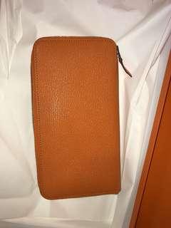 Hermes 拉鍊長銀包 20x11 全新購自法國 保證真品