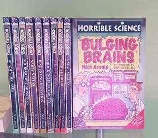 Horrible Science Books (10 books)