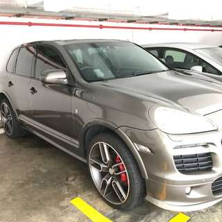 Porsche Cayenne GTS 4.8L Turbo V8 engine