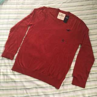 Hollister Sweater - Red