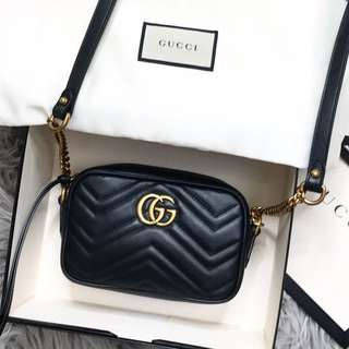 New Gucci Marmont Mini Bag