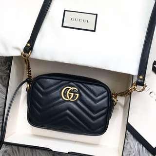 New Gucci Marmont Mini Bag
