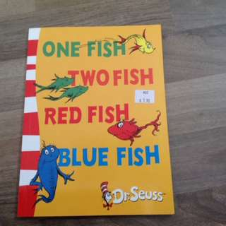 Dr Seuss One Fish Two Fish Red Fish Blue Fish