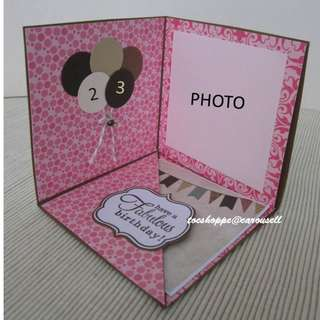 Birthday Display II Card