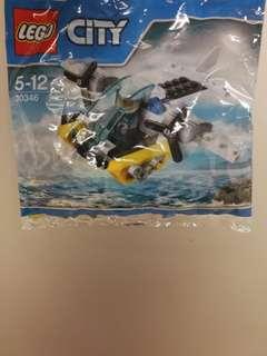 LEGO ® 30346 水上直升機