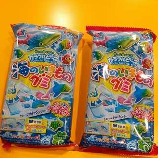 【知育菓子】Kracie  海洋館