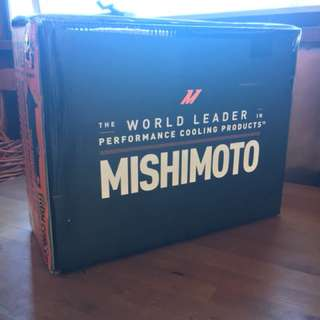 Mishimoto Thermostatic 19 Row oil cooler