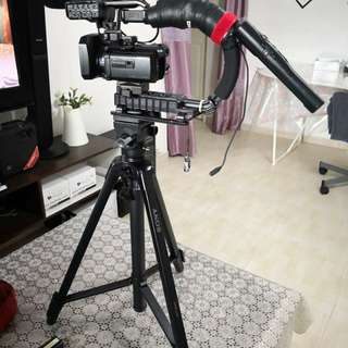 Sony video camera model NX30P