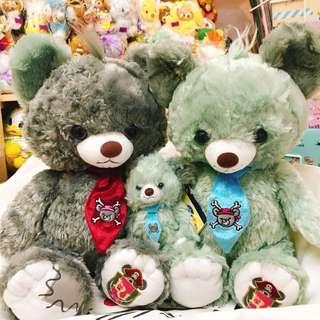 日本unibearsity 灰熊公仔/吊飾