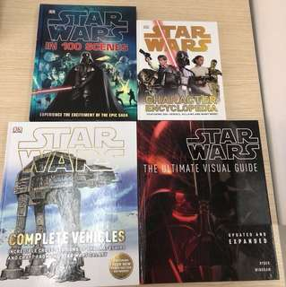 ✨4 for $40✨Star Wars Books