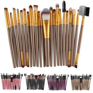 20pcs Assorted Daily Makeup Brush Set
