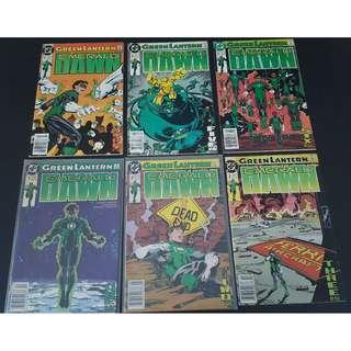 Green Lantern Emerald Dawn I (1989)- Complete Set of 6 Books