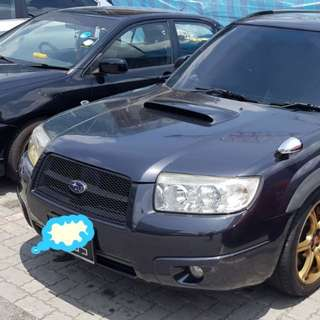 Subaru Forestor 2.5Auto Turbo 2008