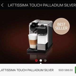 Nespresso Delonghi Lattissima Touch coffee machine