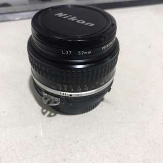 Nikkor 50mm f1.8 AI - EXCELLENT CONDITION