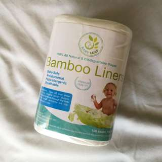 Baby Leaf Bamboo Liners (for cloth diapers)