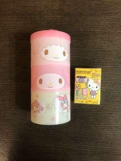 Melody 三層食物盒
