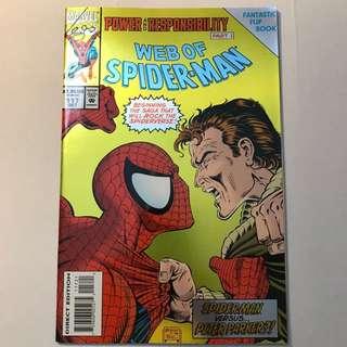 Web of Spider-Man # 117