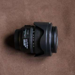 Canon EF-S 15-85mm f/ 3.5-5.6 IS USM lens