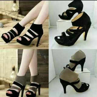 Sepatu high heels NS05