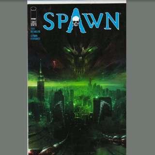 Spawn 283 mattina cover HTF