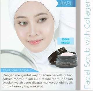 Collagen Facial Scrub