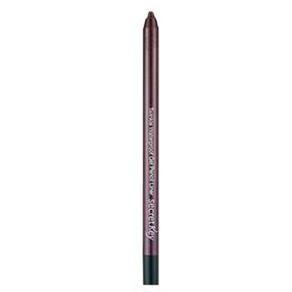 <FREE DELIVERY> Secret Key Faceshop Korea Twinkle Shimmering Waterproof Smudge Free Gel Pencil Liner - Burgundy Brown Pink