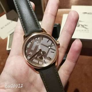 Authentic! Burberry Watch 手錶 bu10012