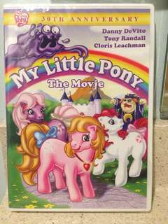 My Little Pony The Movie 30th Anniversary DVD