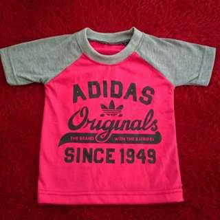 Kaos adidas anak 1-2 tahun ukuran s murah