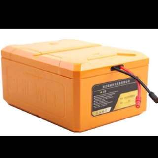 48v or 52v lipo battery(full charge 5.90