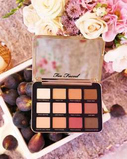 [Authentic] Too Faced Just Peachy Matte Eyeshadow Palette