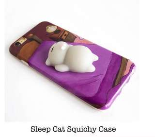Sleep Cat Squichy Case