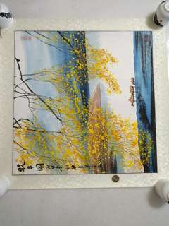 Painting 国画斗方