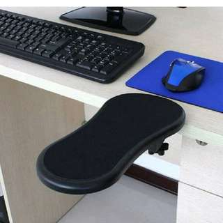 Computer desktop arm wrist support rest