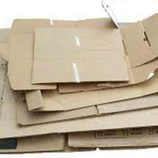 Box cardboards recycle for karang guni only