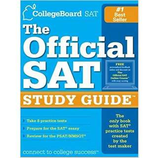 The Official SAT Study Guide 2006 12th Edition by Collegeboard
