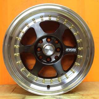 15 inch SPORT RIM WORK MEISTER L1 RACING WHEELS