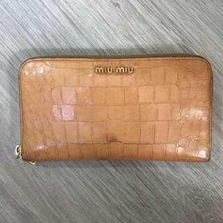 MiuMiu long wallet 長銀包