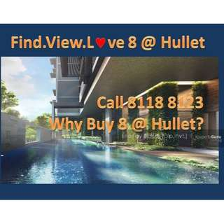 8 @ Hullet - Rare Freehold / Ideal for Investment