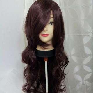Dark Brown 80cm Wig