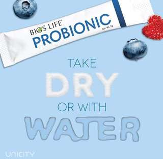 Probionic powder candy suitable for kids too.