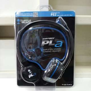 Turtle Beach Ear Force PLa Amplified Stereo Gaming Headset