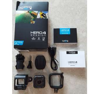 GoPro HERO4 Session with Accessories for SALE!!