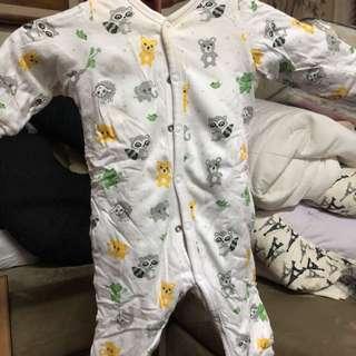 H&M Padded Sleepsuit