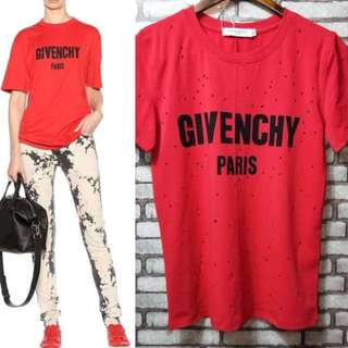 💎Givenchy Destroyed Cotton T Shirt💎