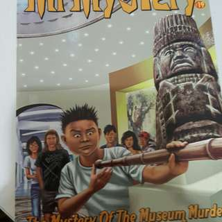 Mr Mystery - The Mystery of the Museum Murder