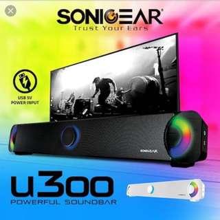 U300 sonicgear soundbar