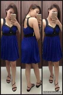 BLUE SEXY DRESS