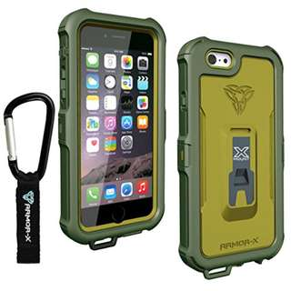 Armor-X All IPX7 Ultimate waterproof case for iPhone 6 Green